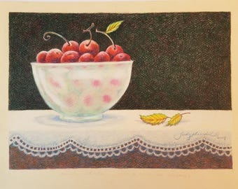 Heart's Desire.....Just A Bowl of Cherries