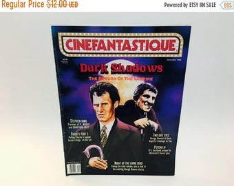 SUMMER BLOWOUT Vintage Magazine Cinefantastique December 1990 Dark Shadows