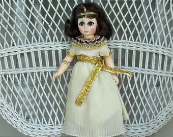 Cleopatra Portrait of History Doll by Madame Alexander 1970-80s Hard Plastic