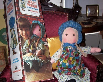 "Vintage Holly Hollie Hobbie Hobby  Rag Doll 27"" Tall in Box"