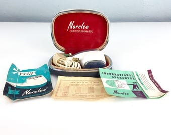 Vintage Norelco Shaver, Made in Holland, Electric Shave, Father's Day Gift, Dad Present, For Him