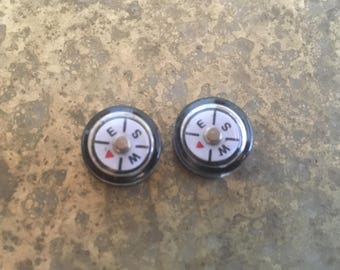 Compass Tiny Plastic lot of 2