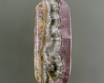 Smithsonite Cabochon, Smithsonite Cab, Lavender Pink Cab, Designer Smithsonite, Pendant Cab, Gift Cab, C2325, Handcrafted by 49erMinerals
