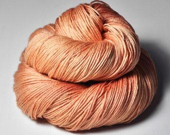 Half-empty Sundowner OOAK - Merino/Silk Fingering Yarn Superwash