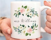 Mrs. Wedding Mug, Custom Engagement Mrs Mug, Wedding Gift idea For Bride From Bridesmaid, Best Friend Personalized Custom, Mugs, Future Wife