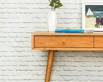 Bloom Desk / ConsoleTable - Danish Modern Inspired