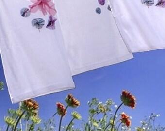 Tank tops or fancy ruffle strap, pink purple glitter flower girl Top