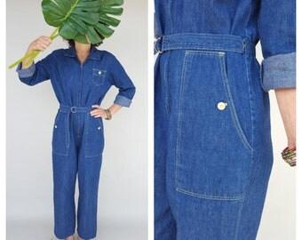 Vintage Jumpsuit / Overalls / Coveralls / Jumpsuit M