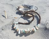 Amazonite and shells..woo...
