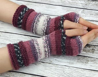 Fingerless gloves - Arm warmers - Womens Fingerless  - Wrist warmers - Hand warmers