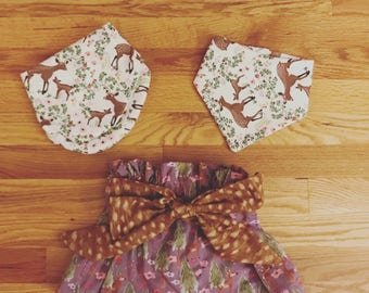 Little lady Bow skirts ( Design your own)