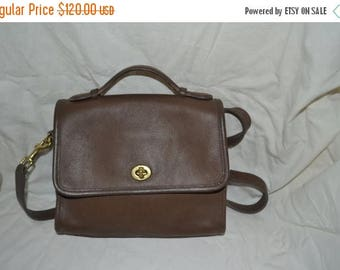 On Sale Vintage Coach~Coach ~Coach Court Bag~ Coach~ Taupe ~USA Made