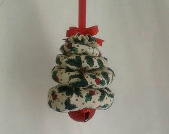 Holly and Berries Christmas Tree Ornament