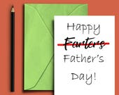 Father's Day Card - Card for dad - Funny Father's Day card - Funny card -  Cards for him -  Instant Download - Printable Fathers Day Card