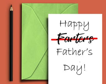 Father's Day Card - Funny Father's Day card - Funny card -  Cards for him - Card for dad - Instant Download - Printable Fathers Day Card