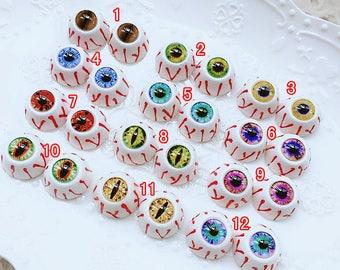 10pcs 5pairs high quality glass eyes / eyeball cameo / doll eyes / animals eyes / doll making X-S