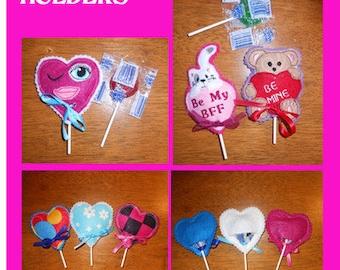 Valentine Lollipop Holders