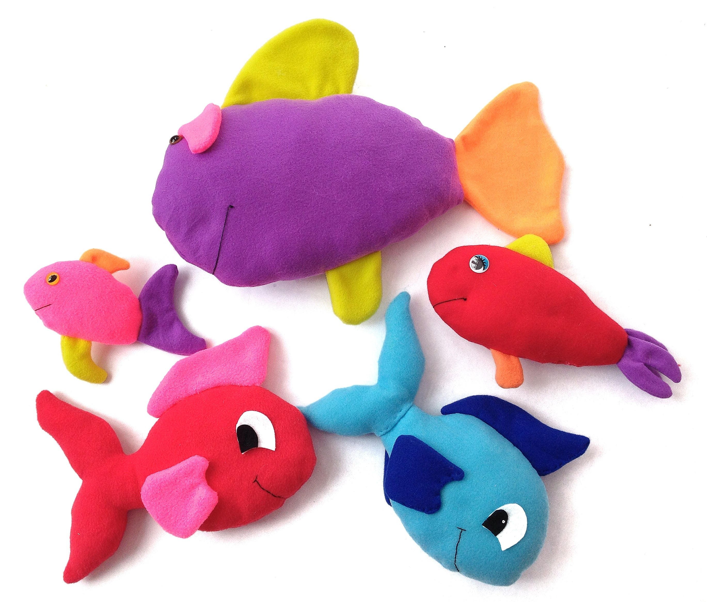 Fish plushie pattern fish stuffed animal pattern soft for Fish stuffed animal