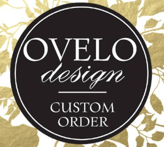 Custom order for Melanie