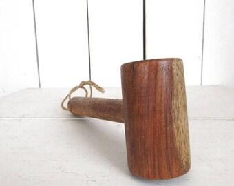 34% Off Sale - Vintage Wood Mallet - Rustic Kitchen Mallet