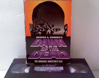 Dawn of the Dead Director's Cut VHS