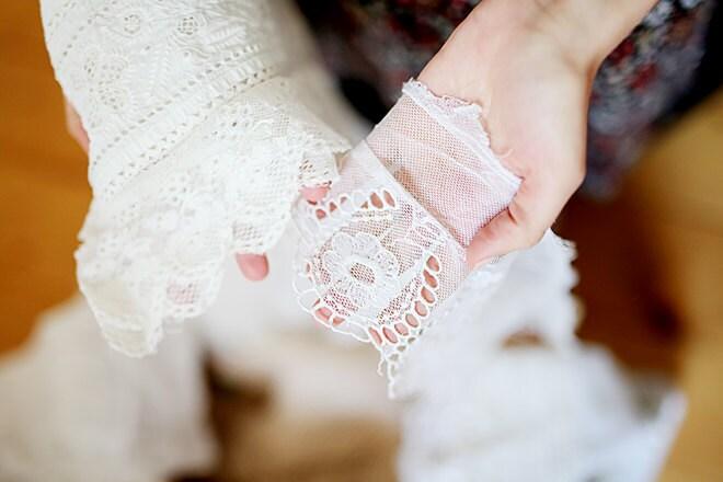 antique lace, folklore costume, vintage lace