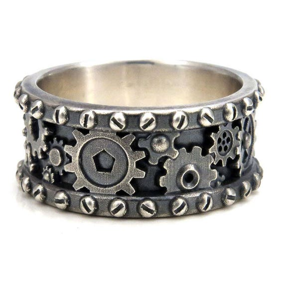Cog Wedding Ring