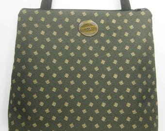 Traditional Look on Green Uphlostery, Sedona Purse