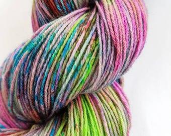 Indie Hand Dyed Yarn 'Earth Garden'