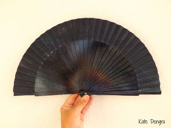 Mystical Black Hand Fan