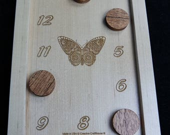 The Butterfly Puzzle Box – with customizable combinations