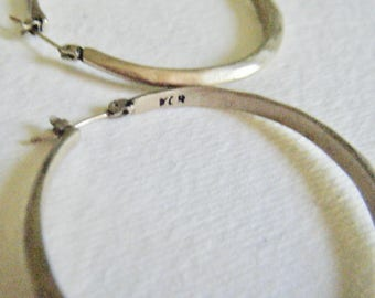 Hammered Hoop Earrings Kenneth Cole Reaction Jewelry