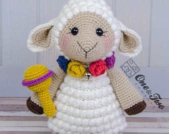 "Sophie the Little Sheep ""Little Explorer Series"" Amigurumi - PDF Crochet Pattern - Instant Download - Amigurumi Cuddy Stuff"