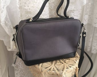 Vintage purse handbag, black and grey vintage but never used