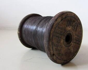 Vintage Copper Wire Reel