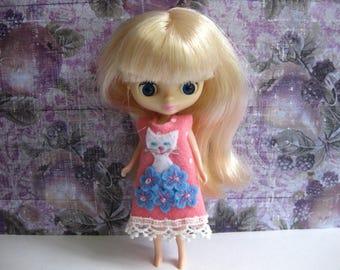 Flower Kitty Dress (Pink)