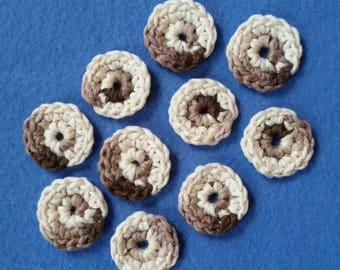 Deluxe Organic Cotton Balls, 10 handmade reusable cotton balls, crochet cotton balls, ecofriendly skincare