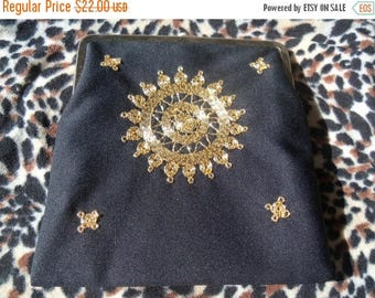 Now On Sale Stunning Vintage Little Black Purse Mad Men Mod Hollywood Boho Collectible Clutch Handbag Bag Martini Mermaid