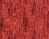 12% off thru July THE WAY HOME, Red plank wood siding for landscape quilts cotton print by the yard 82503-333 Wilmington Prints Cotton Fabri
