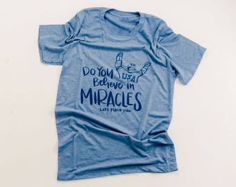 Do you Believe in Miracles unisex tee | Olympics tee shirt | PyeongChang Olympic tee | Olympics 2018
