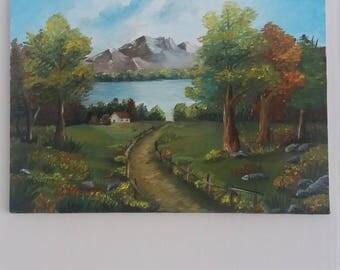 Landscape-original oil painting