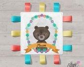 Bear - Personalised tag b...