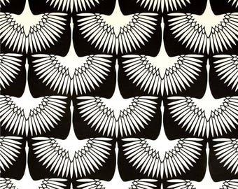"Two 96"" x 50""  Custom Curtain Panels - Indoor Outdoor - Gorder Flock Midnight"