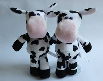 """Cow Stuffed Animal - """"Clark and Claire"""""""