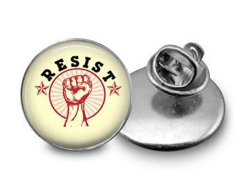 Resist Pin Resistance Pin Resistance Lapel Pin Tie Tack Jacket Pin B91