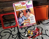Weaving Loom in Box - Vintage Arts + Crafts Tool, Winter Project, Handmade Decor, Crafts for Kids, Braiding/Crocheting, Christmas Gift 4 Kid