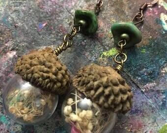 Little Acorn Earrings