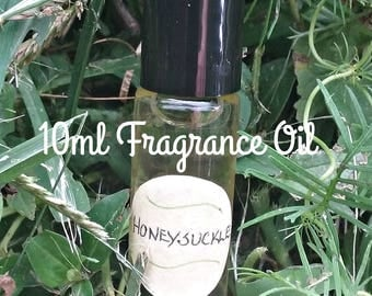 Honeysuckle Fragrance Oil Roll On - Honeysuckle - Roll On Fragrances - Aromatherapy - Elusive Wolf