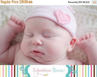 SALE 25% OFF Baby girl hat, baby girl, newborn girl hat, infant girl hat, hospital newborn hat, newborn hat, infant hat, baby hat, baby bow
