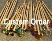 Lace roller bar, divider pins & stainless steel pins